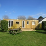 Rental - Mobile home Relooké (Old) ECO 27m² - 2 rooms - without toilet blocks - Flower Camping Le Haut Dick