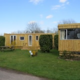 Rental - Mobile Home Relooké (Old) Eco 25M² - 2 Rooms - Without Toilet Blocks - Flower Camping Le Haut Dick