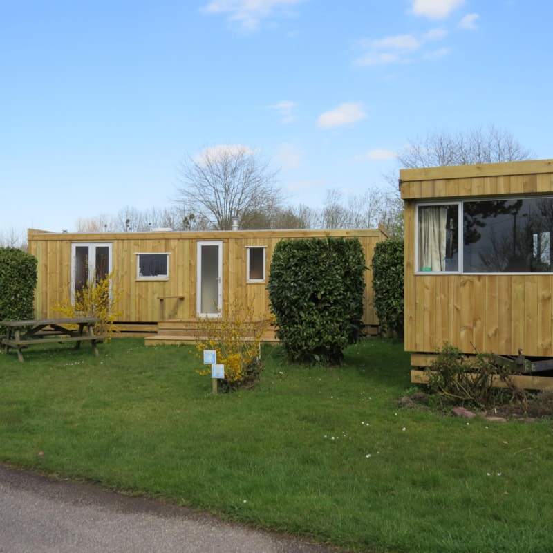 Mobile home Relooké (Old) ECO 27m² - 2 rooms - without toilet blocks