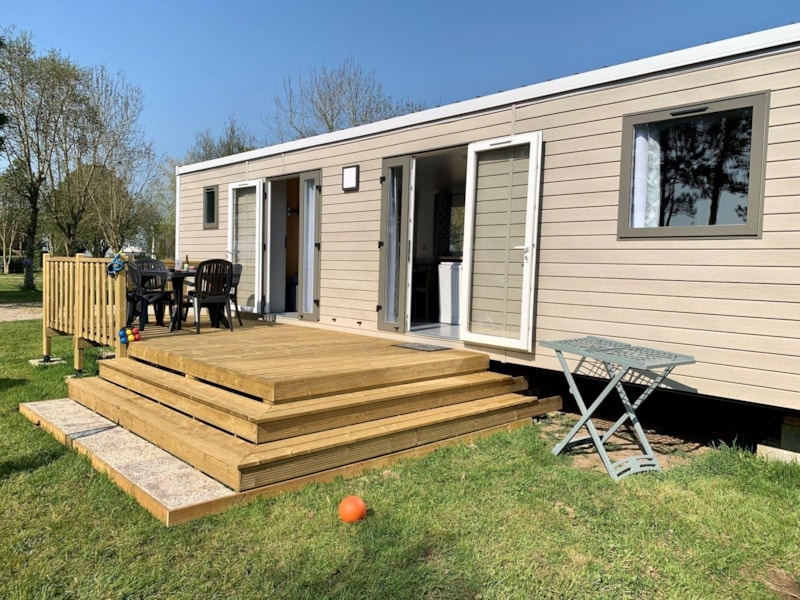 Mobil-Home Premium 40m2 3 bedrooms + 2 bathrooms + Terrace