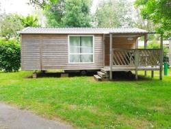 Mobilhome Confort Bois 29M² 2 Chambres + Terrasse
