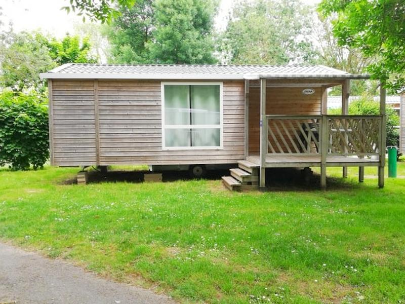 Location - Mobilhome Confort Bois 29M² 2 Chambres + Terrasse - Flower Camping Île d'Offard