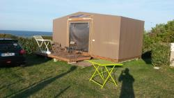 Furnished tent 18m² / 2 bedrooms - without toilet blocks