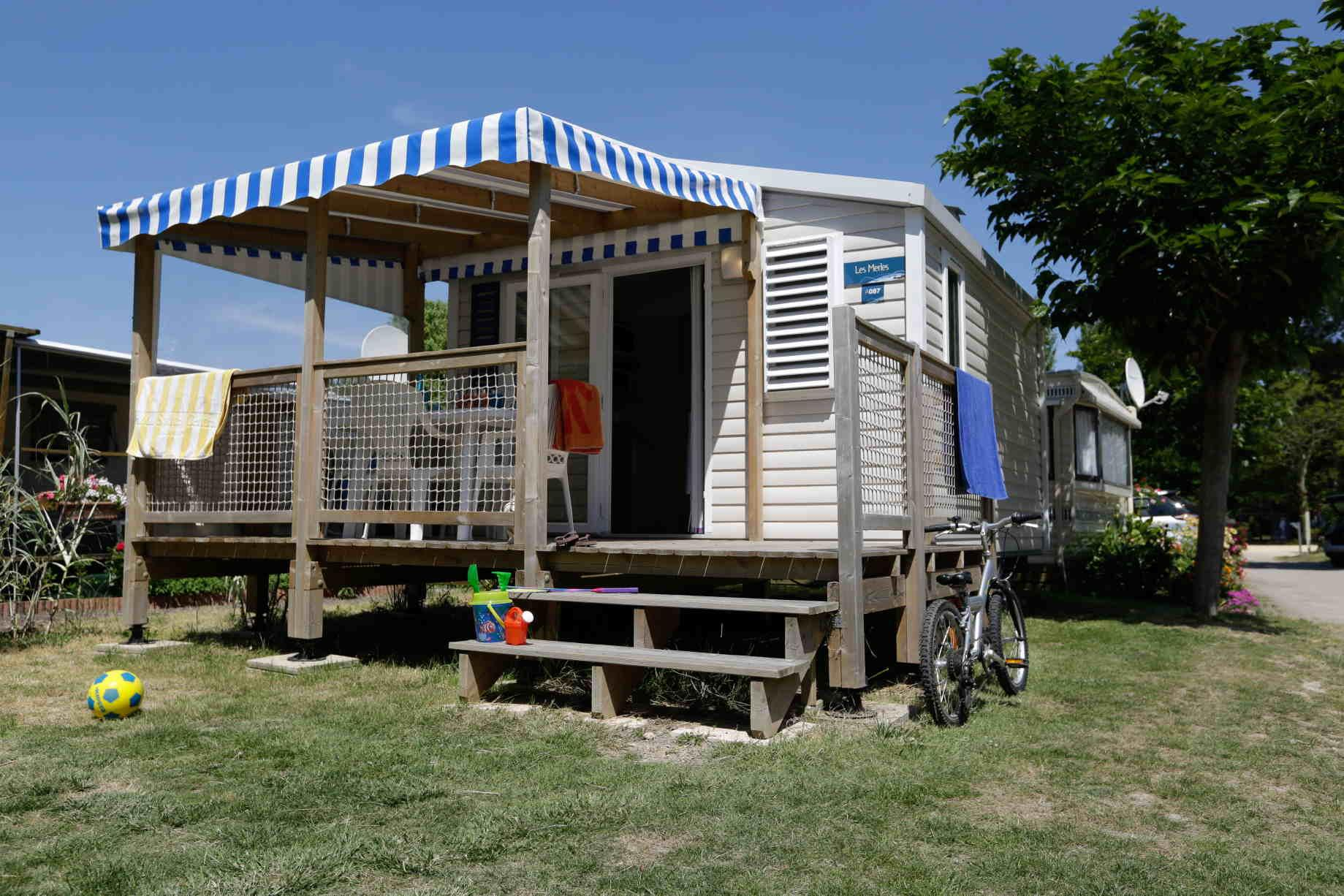 Accommodation - Mobile Home Confort 1 Berdoom 16M² - Flower Camping La Guichardière