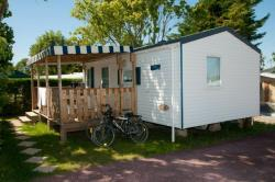 Mobil-home Cottage 28m² Confort (2 chambres) + terrasse couverte