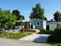 Mobil-home Cabane du Pêcheur 33m² Confort+ (3 bedrooms) + terrace Half-covered