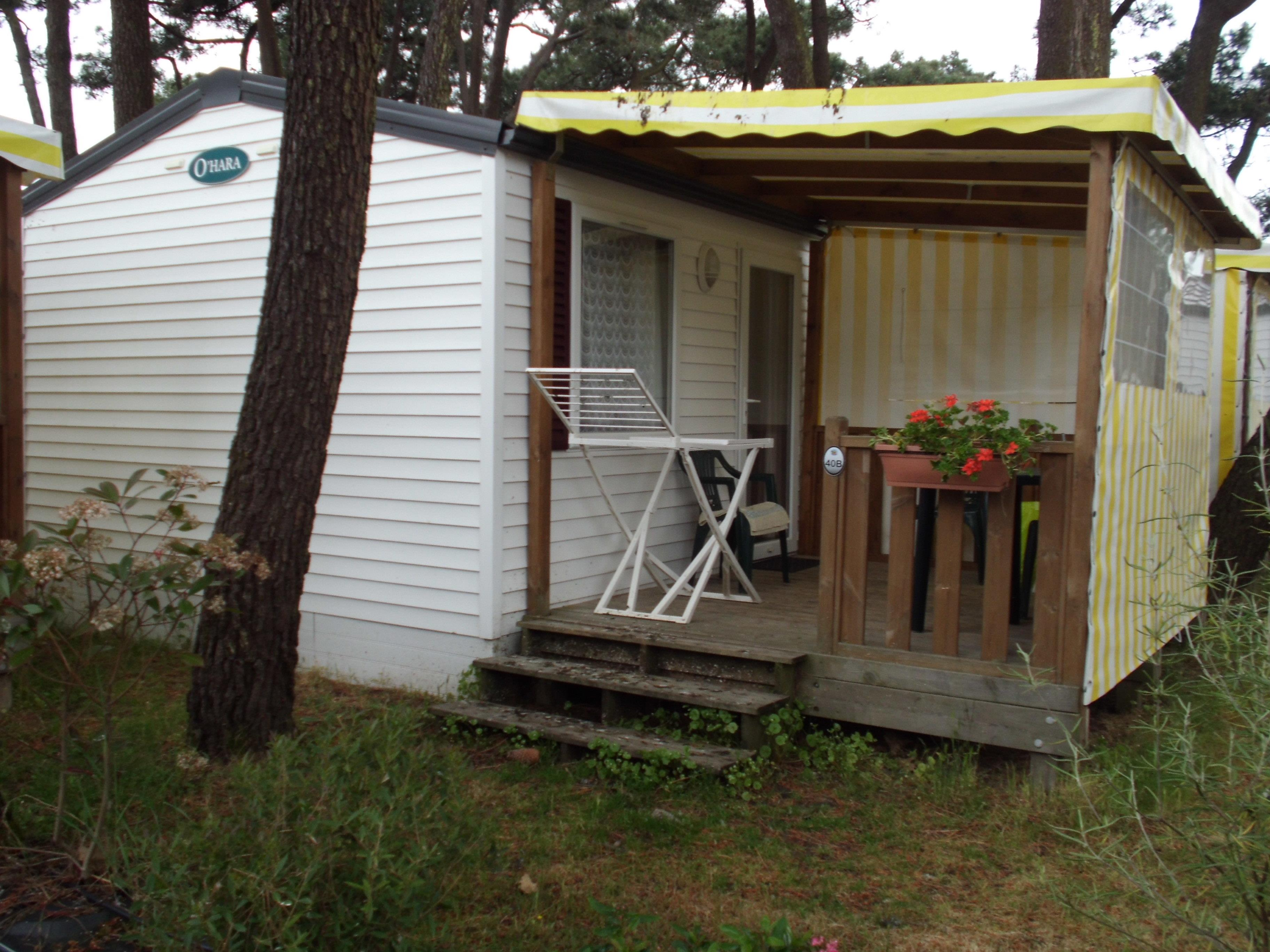 Accommodation - Mobile-Home Duo 1 Bedroom - Camping de Mindin - Camping Qualité