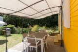 Rental - MOBIL-HOME - 3 bedrooms - 2 bathrooms - PERGOLA - 36 m2 - Castel La Garangeoire