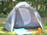 Pitch - SIMPLE  PITCH  - without electricity - 2 pers - (TENT  ONLY) - - Castel La Garangeoire