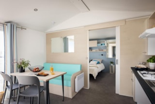 2019: New Mobile Home - 2 Bedrooms - 4/5 Pers - Life Designed For Disabled People - 30.50 M2 -