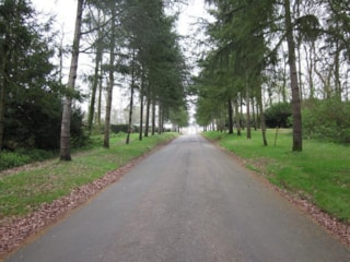 Avenue Pitch - By The Main Entrance Of The Campsite - With Electricity: 16A  + Water + Drainage - 2 Pers