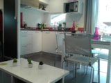 Rental - MOBILE-HOME - 3  Bedrooms - 2  bathrooms -  TAOS Premium - 38 m² - - Castel La Garangeoire