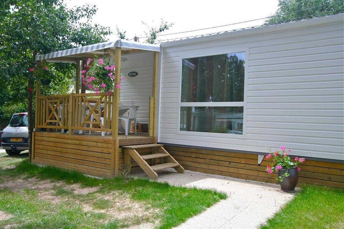 Mobil-home 25m² / 2 chambres - terrasse couverte