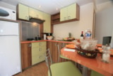 Rental - Mobile home 'Evasion Prestige' 32m² + 3 bedrooms + terrace semi-covered 13.5m² - Camping L'Eden