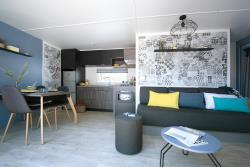 Mobile-Home 'Univers Luxe' 40 M² + 3 Bedrooms + Closed Terrace 18 M²
