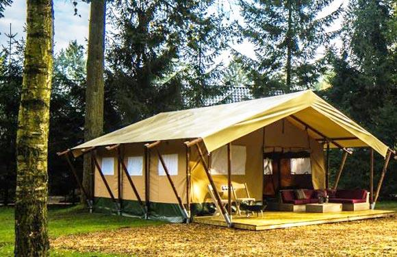 Huuraccommodaties - Glamping Tent - Recreatiepark de Leistert