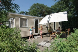 Mobile home (2 rooms) with shower and toilet