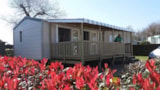 Rental - Mobile Home IRIS 32m² - 3 Rooms - Camping La Tabardiere