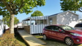 Rental - Mobilhome Pmr 31M² - 2 Rooms - Camping La Tabardiere