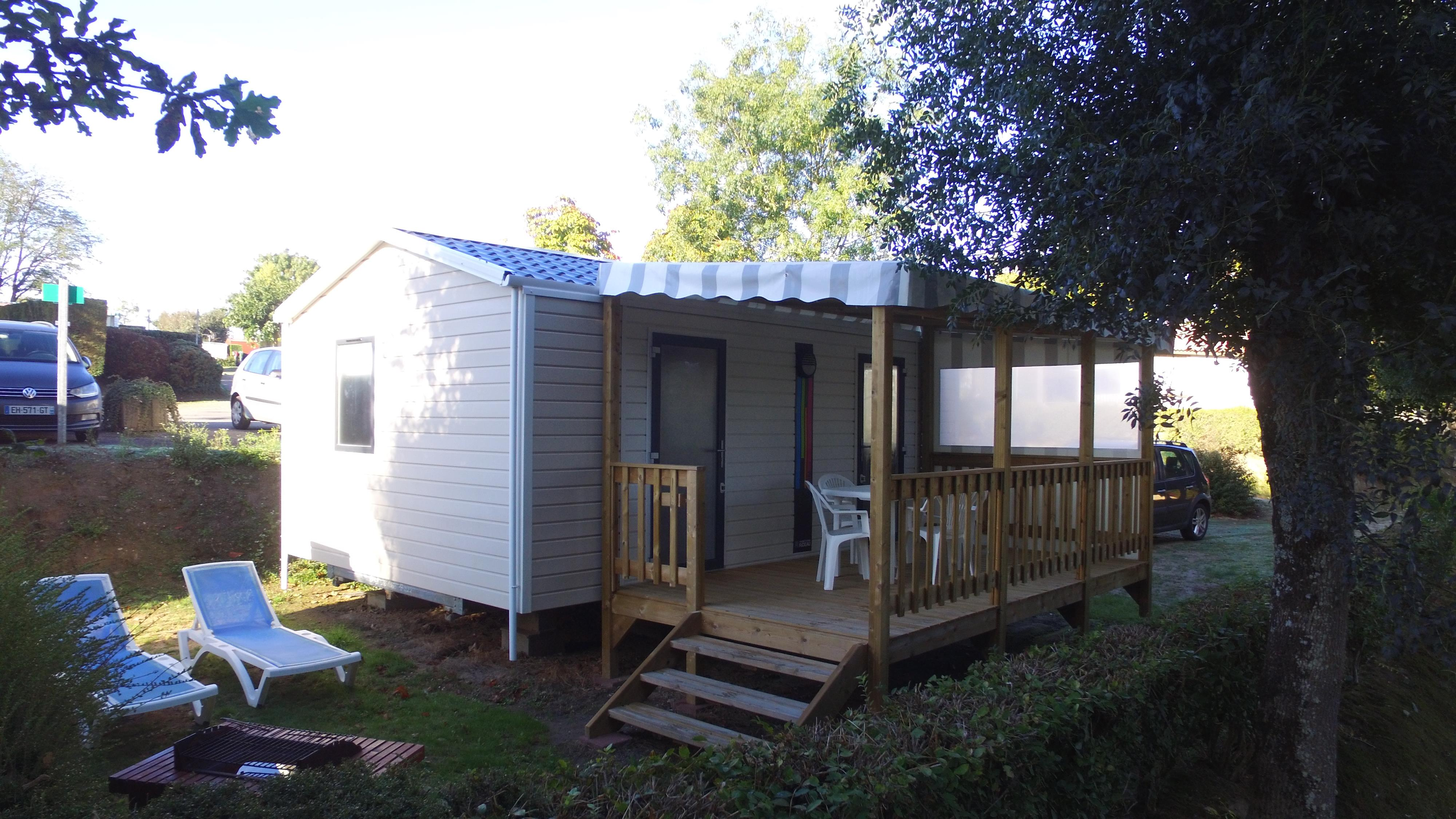 Accommodation - Mobilhome Jonquille 24M² - 1 Room - Camping Les Vallons de l'Océan