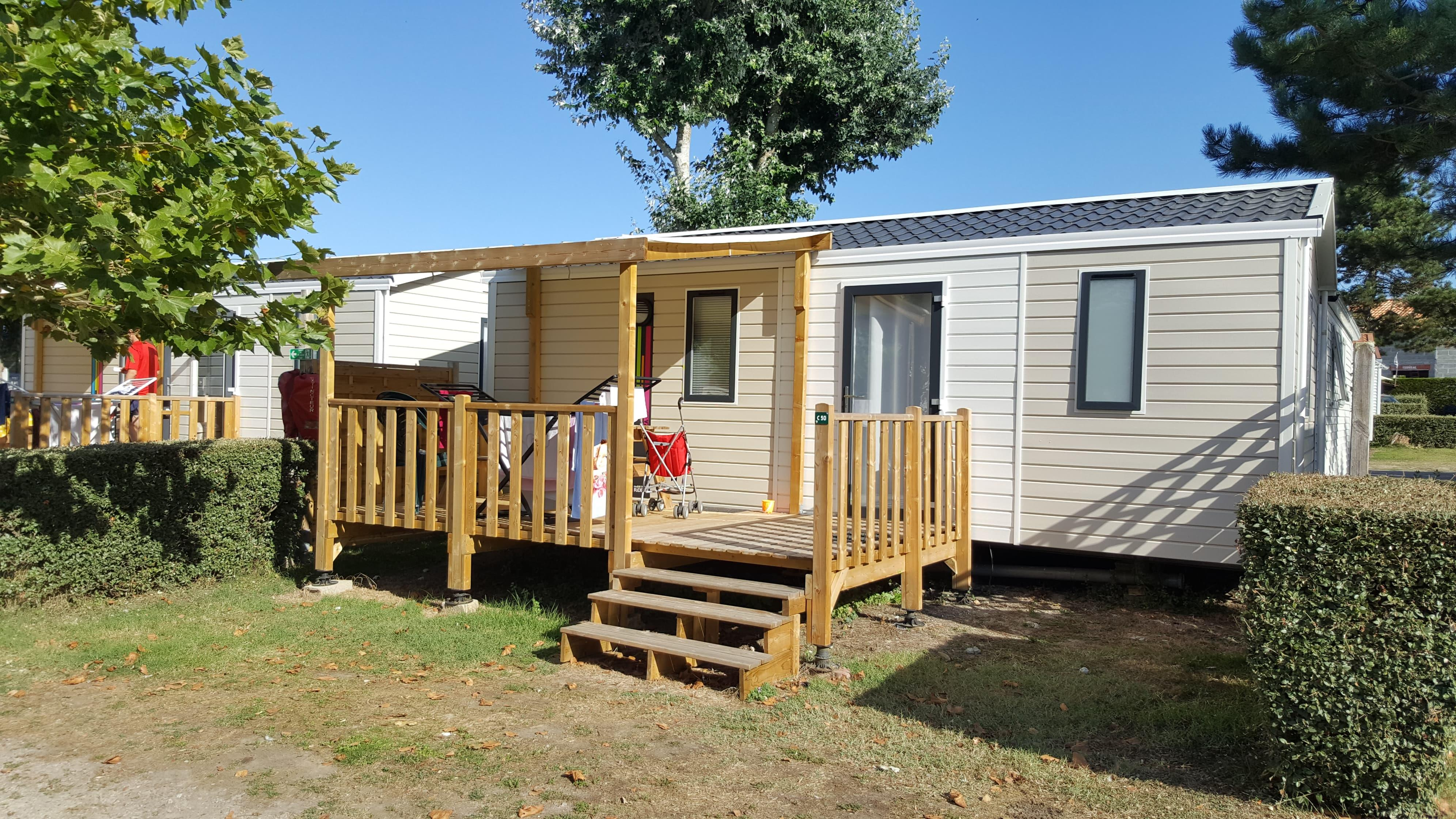 Huuraccommodaties - Mobil-Home 2Ch 27M² Confort - Camping Eleovic