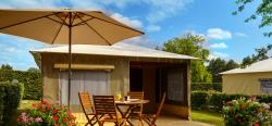 Canvas bungalow - 2 bedrooms (without toilet blocks)
