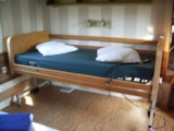 Rental - Cottage PMR*** 4/6pers, 34m², 2ch (adapted to the people with reduced mobility) - Camping Village de La Guyonnière