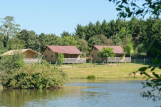 Glamping Safari Lodge Premium, 64M², 3 Bedrooms