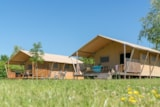Rental - Glamping Woody Lodge 2bedrooms, 35m², without bathroom - Camping Village de La Guyonnière