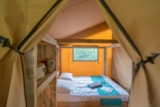 Rental - Glamping Woody Lodge 2 bedrooms, 35m²,  without bathroom, clim - Camping Village de La Guyonnière