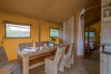 Rental - Glamping Safari Lodge, 40m², 2 bedrooms, clim - Camping Village de La Guyonnière