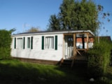 Rental - Comfort Cottage Plus with half covered terrace - Camping Aux Coeurs Vendéens