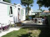Rental - Comfort Cottage 4/5Pers 25 To 27M² (2 Bedrooms)  - Tv - Camping Plein Sud