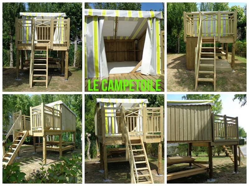Accommodation - Campétoile - Camping Plein Sud