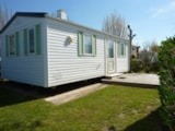 Rental - Comfort Cottage 4/5pers 25 to 27m² (2 bedrooms) (sunday-sunday) - TV - Camping Plein Sud