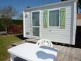 Rental - Comfort Cottage 2pers 16m² (1 bedroom) (Sunday-Sunday) - TV - Camping Plein Sud