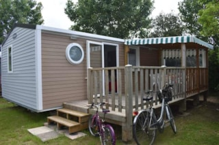 Mobil-Home Confort+ 28M² - 2 Bedrooms + Sheltered Terrace