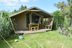 Tent Lodge Freeflower Confort 22M² - 2 Bedrooms (Without Toilet Blocks)