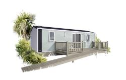 Mobile-Home Confort+ 34M² - 2 Bedrooms - Adapted To The People With Reduced Mobility