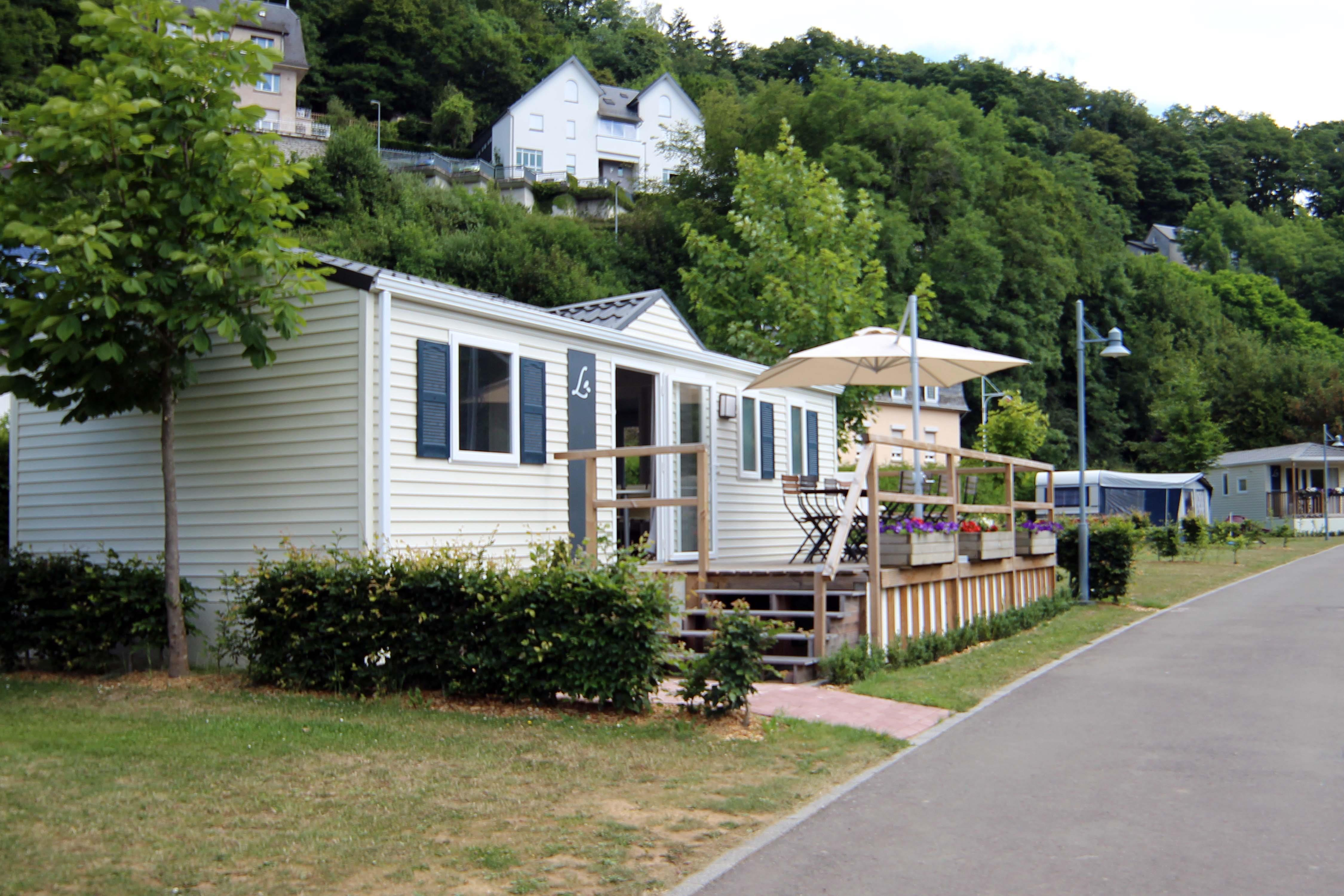 Alloggi - Casa Mobile Bussar - Camping Officiel de Clervaux