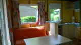 Rental - Chalet Bois 24 m² 2 bedrooms - Camping Les Charmes