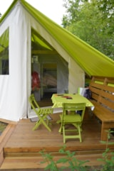 Rental - Tent 2 bedrooms - Camping Les Charmes