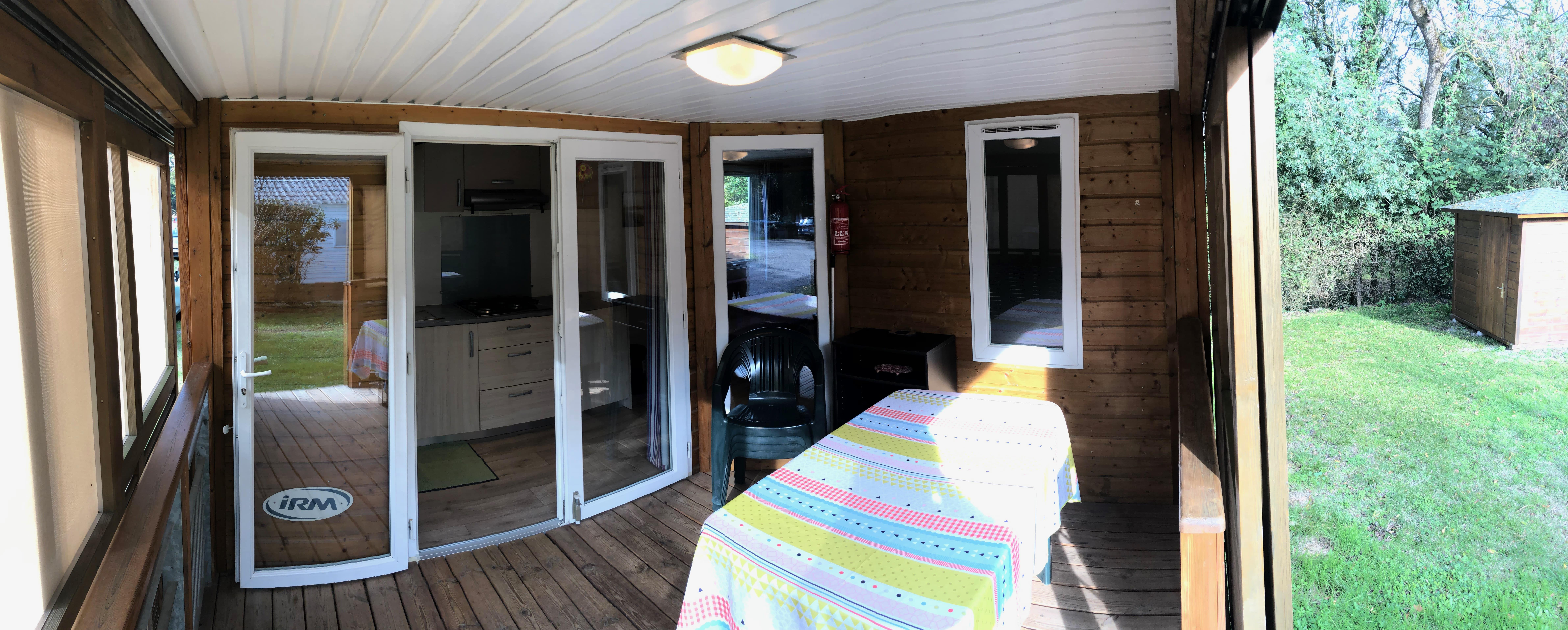 Mietunterkunft - Mobil-Home 2 Chambres (Confort) - Camping Belle Rivière