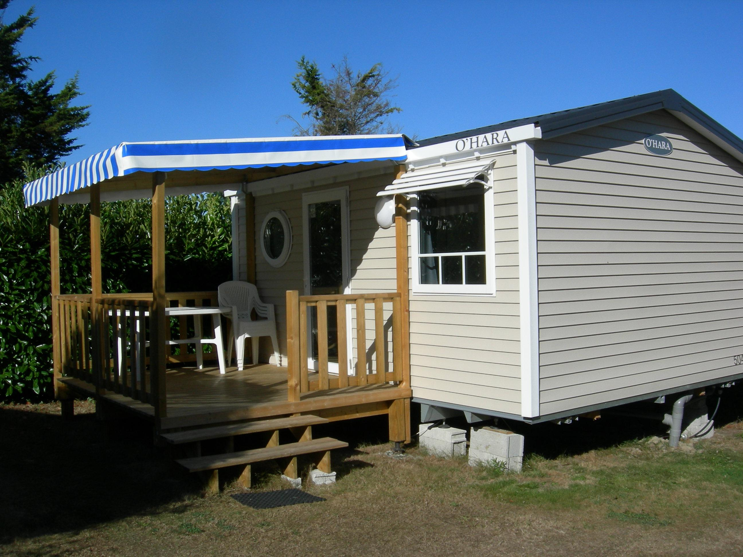 Mobile home confort 1 bedroom 19 m with covered terrace for One bedroom modular home