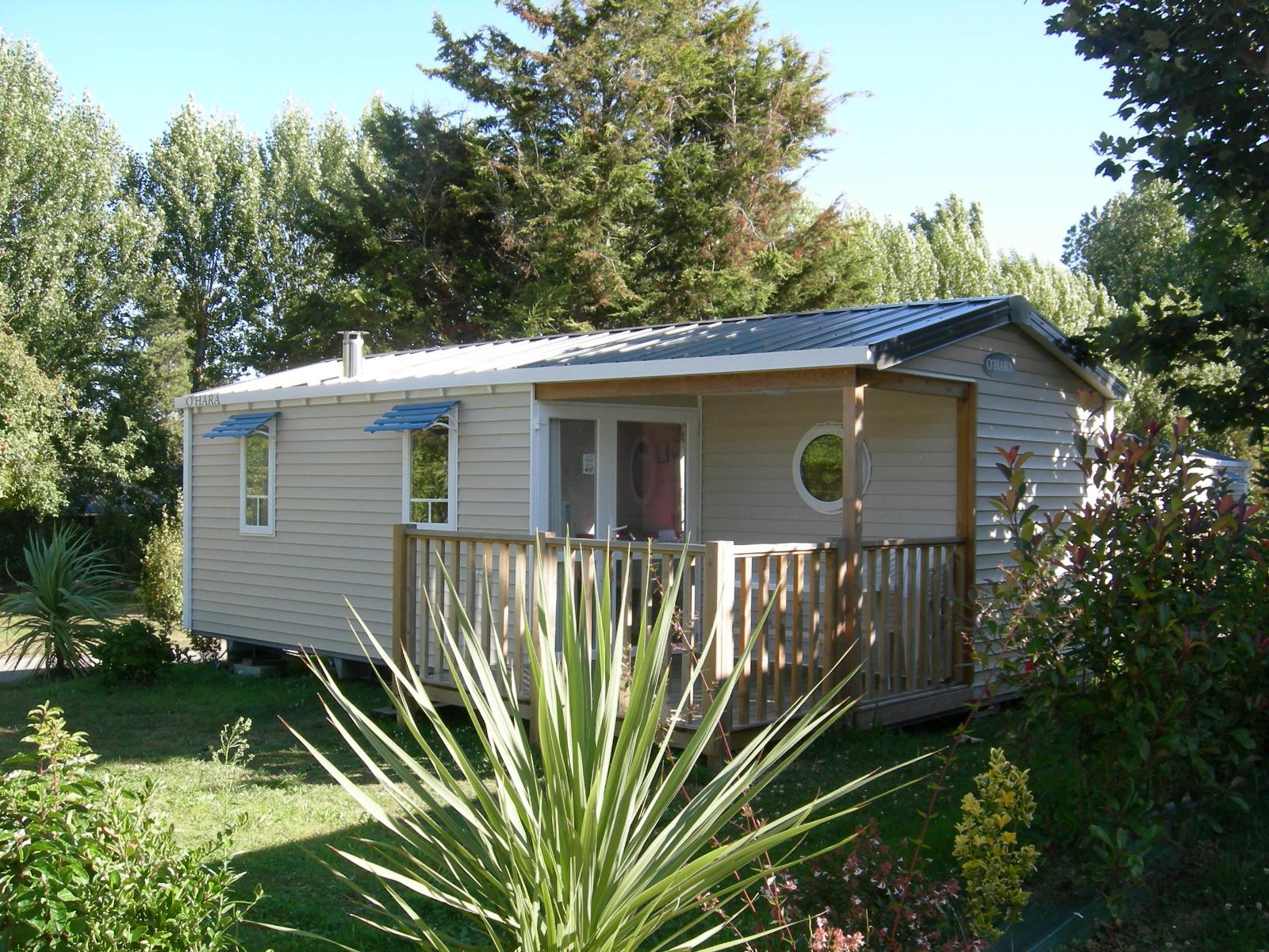 Mobile home Confort+ (2 bedrooms) - half-covered terrace (10/11 nights)