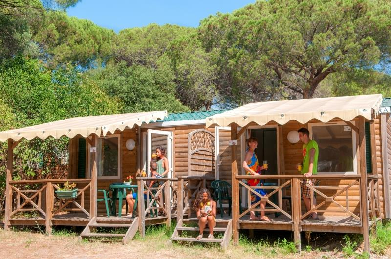 Accommodation - Mini Habana Duo - OLD -Capfun - Camping Loubine