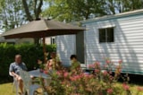Rental - Mobile Home Bambi Without Sanitary Sunday/Sunday - Camping Le Nid d'Eté