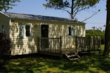 Rental - Mobile Home Ibiza Sunday To Sunday - Camping Le Nid d'Eté