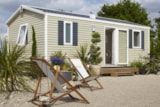 Rental - Mobile Home Moduleo 2 / 3 Bedrooms Sunday To Sunday - Camping Le Nid d'Eté