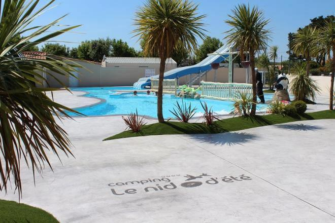 Establishment Camping Le Nid d'Eté - Olonne-sur-Mer